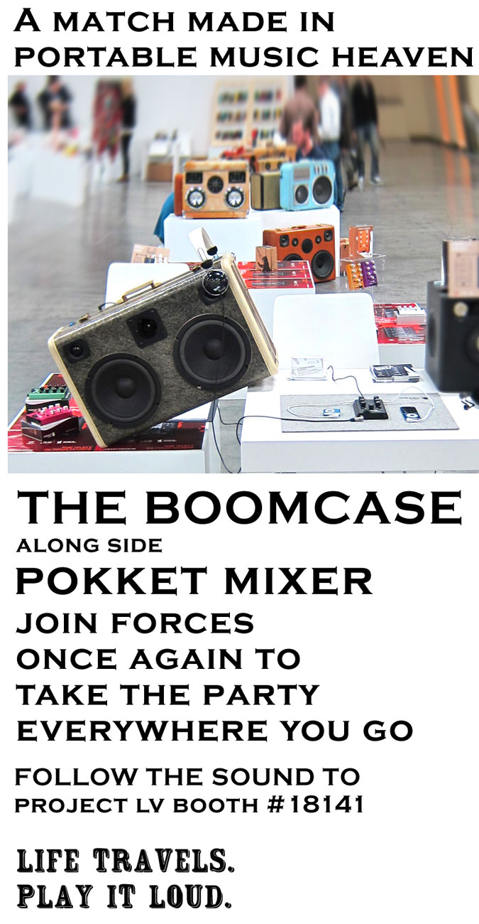 Project BoomCase Project Las Vegas 2013 Magic Pokket Mixer