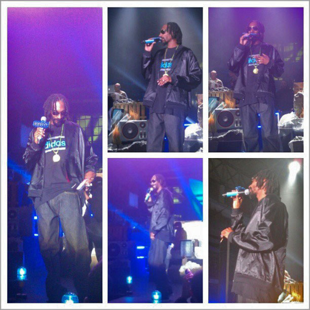 snoop dogg lion Boomcase stage adidas unitealloriginals unitela big sean araabmuzik concert LA