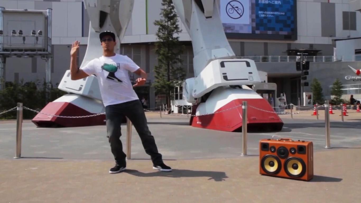 Street Boombox Boombox Robot Dance Street