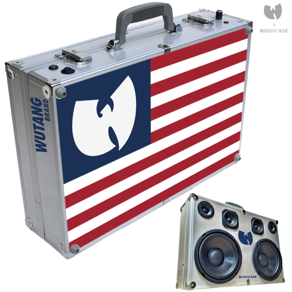 WuTang BoomCase WuTang boomBox briefcase wutang brand wulife wutange forever hiphop hip-hop vintage beats
