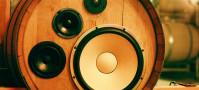 Benziger Winery BoomCase Barrel Speaker Wireless Wine Barrels Bluetooth Speakers Wine Cave Sonoma Glen Ellen California Napa Wine Country