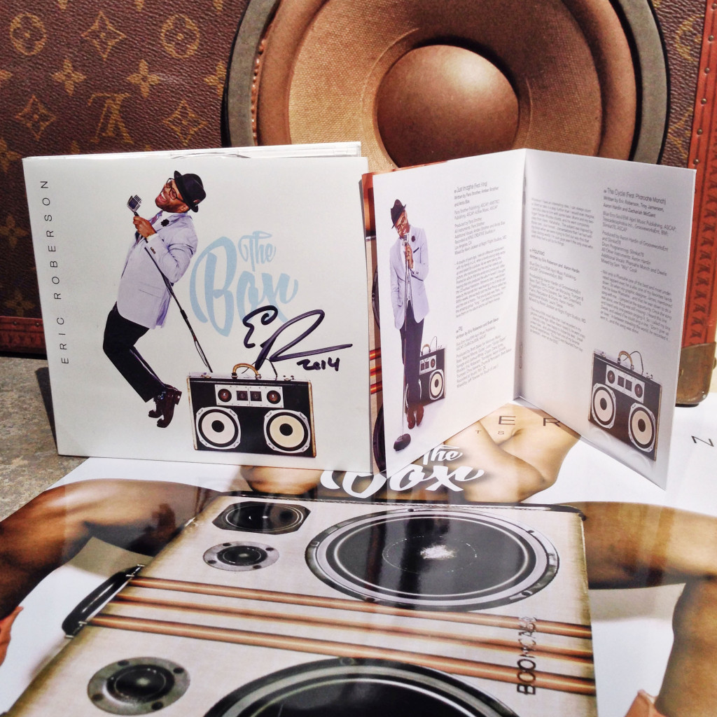 Eric Roberson BoomCase Album The Box Studio Fresh Legs Mix BoomBox Vintage Suitcase Style Soul Fresh Grammy
