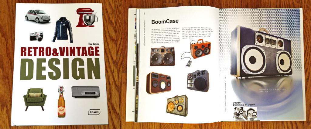 Retro Vintage Design Book BoomCase BoomBox Braun Publishing Phillips Fiat Vintage Suitcase